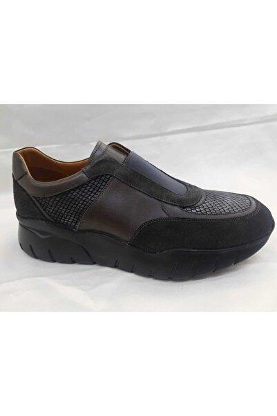 Nevzat Onay Erkek Haki Deri Ayakkabı