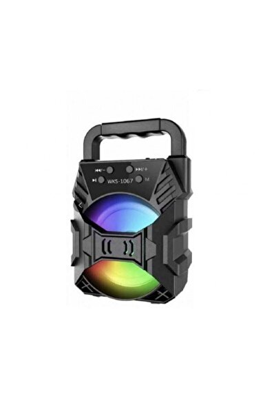 POLYGOLD Ktx-1067 Işıklı Bluetooth Hoparlör Ses Bombası Yüksek Ses Ses Bombası Yüksek Ses