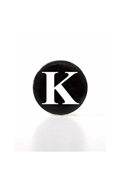 Retro Time Siyah K Harf Açacak Magnet