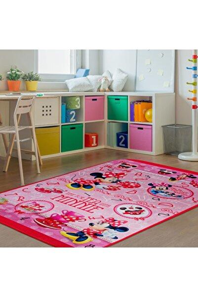 GizHome Giz Home Minnie Lisanslı Çocuk Halısı (PEMBE) - 100x140 Cm