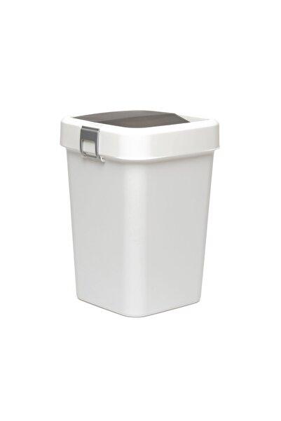 Motek Comfort Dust Bin Çöp Kovası (BEYAZ) - 8 Lt