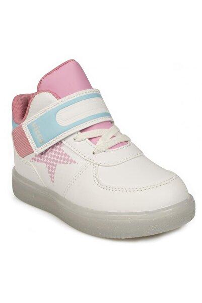 Vicco Kız Çocuk Beyaz 220.b20k.106 Bebe Işıklı Spor Bot