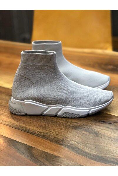 POLENS Kadın Çorap Tarzı Sneakers Spor Ayakkabı