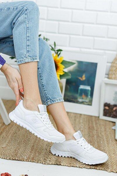 MUGGO CRSH602 Ortopedik Kadın Yürüyüş Ayakkabı
