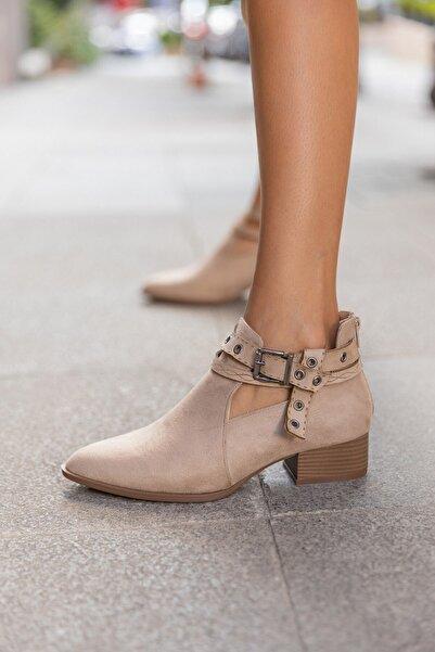 LuviShoes 11 Ten Süet Kadın Bot