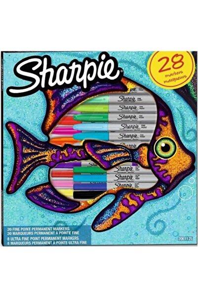 Sharpie Fıne Balık Keçeli Kalem Permanent Set 28'li 2061125