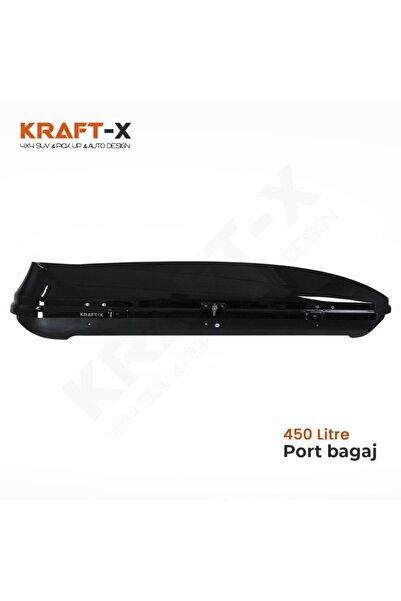 Kraftx 450 Litre Araç Üstü Port Bagaj - 3 Farklı Renk