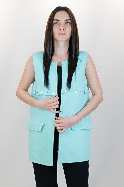 GİZİA Kadın Ceket Yelek M15yds0021