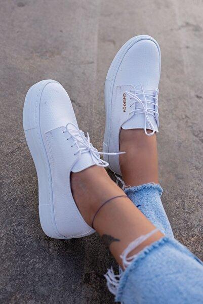 Chekich Kadın Sneaker Beyaz Ayakkabı