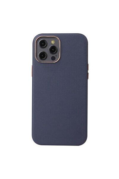 CoverStation Iphone 12 Pro Max Uyumlu Deri Içi Kadife Orijinal Kapak