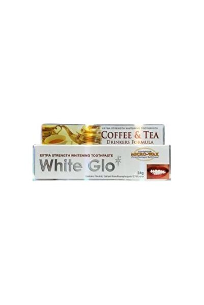White Glo Whıte Glo Çay & Kahve Tüketenlere Beyazlatıcı Diş Macunu- 24 gr