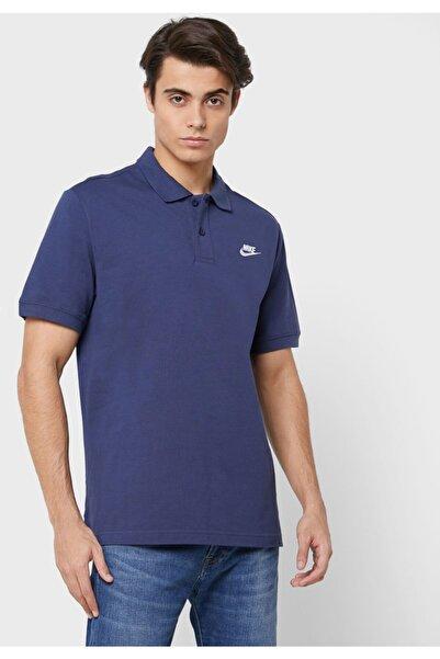 Nike Erkek Lacivertpolo Yaka T-shirt - Cn8764-410