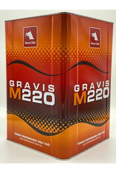 Petrol Ofisi Gravis M 220 Teneke 16 Kg-dişli Yağı