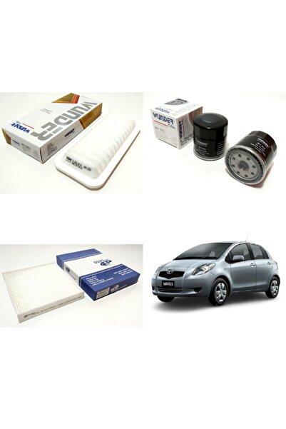WUNDER Toyota Yaris 1.3 16v 87hp ( 2006 - 2009 ) Filtre Bakım Seti