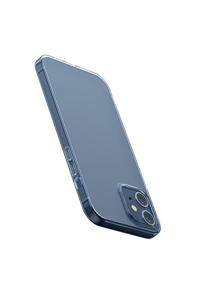 Baseus Iphone 12 6.1 Uyumlu Ince Şeffaf Silikon Kılıf