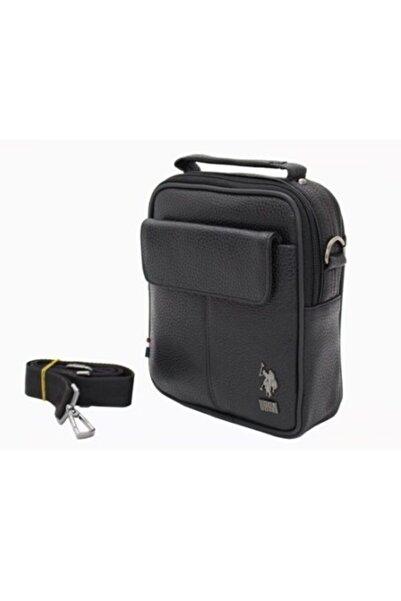U.S. Polo Assn. U.s Polo Assn Siyah Laptop Erkek Çantası Plevr6755