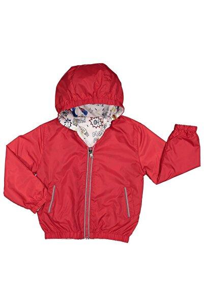 Midimod Erkek Bebek Yağmurluk Mont Çift Taraflı 6-24 Ay M19167