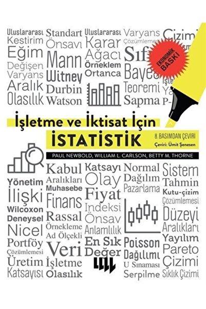 Literatür Yayıncılık Işletme Ve Iktisat Için Istatistik (8. Basımdan Çeviri Ekonomik Baskı)