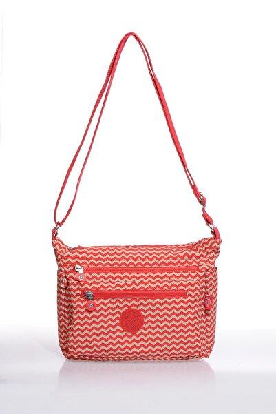 SMART BAGS Kadın Kırmızı Çanta