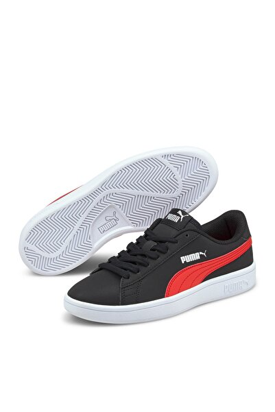 Puma SMASH V2 BUCK JR Siyah Erkek Çocuk Sneaker Ayakkabı 101085439