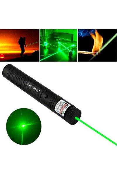 Bibizde Green Laser Pointer Şarjlı Güçlü Yeşil Lazer Metal Kasa