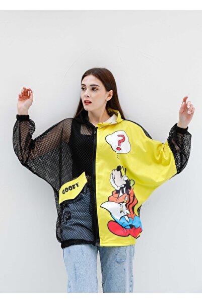 The All Brands Fileli Karakterli Renkli Ceket