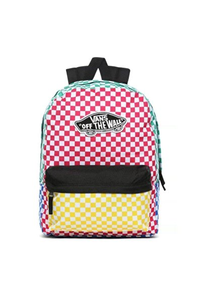 Vans Sırt Okul Çantası Realm Checker Block Zl1