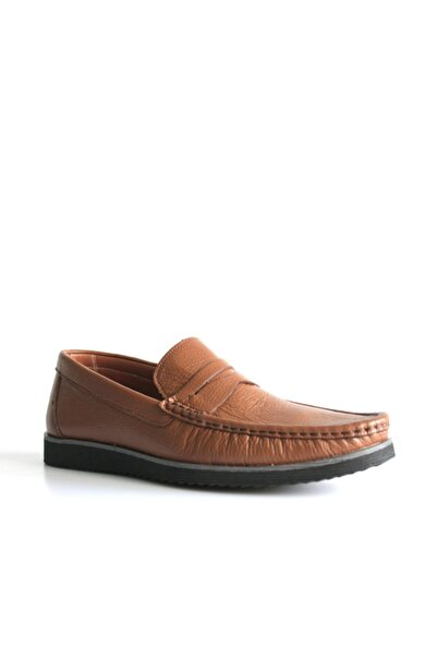 Beta Shoes Günlük Ayakkabı Hakiki Deri Erkek Taba