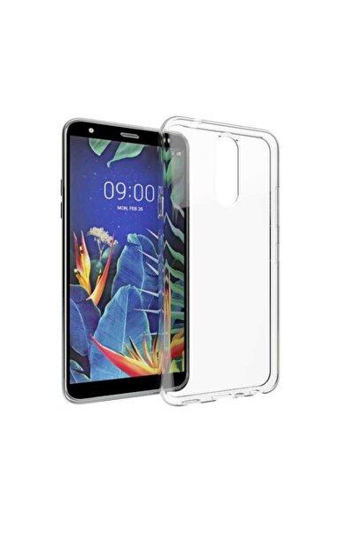 LG K40 Kılıf Şeffaf Tam Koruma Esnek Süper Silikon Model