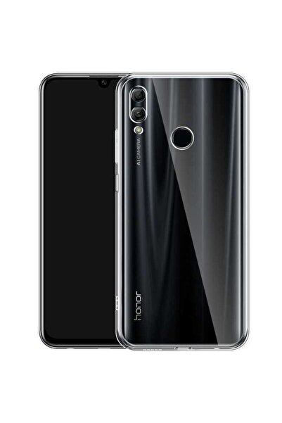 Huawei Honor 8x Kılıf Şeffaf Tam Koruma Esnek Süper Silikon Model