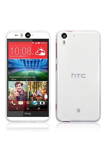 HTC Desire Eye Kılıf Şeffaf Tam Koruma Esnek Süper Silikon Model