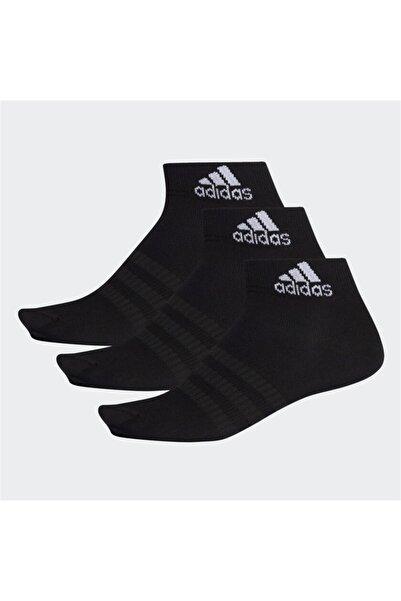 adidas Dz9436 Siyah Çok Hafif 3'lü Bilek Çorap