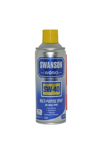 SWANSON Sw 40 Sıvı Silah Yağı 200 Ml. Silah Temizleme Yağı Ithal