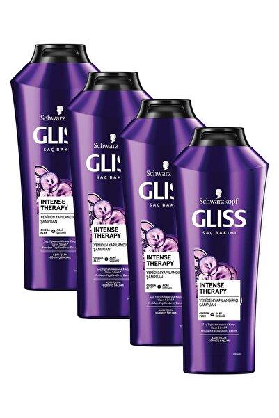 Gliss Intense Therapy Yeniden Yapılandırıcı Şampuan 360 ML 4'lü