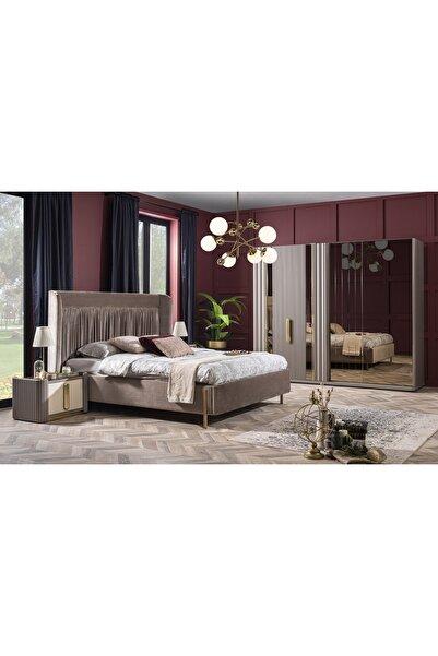 Weltew Home Florya Bazalı Ve Karyolalı Yatak Odası Takımı