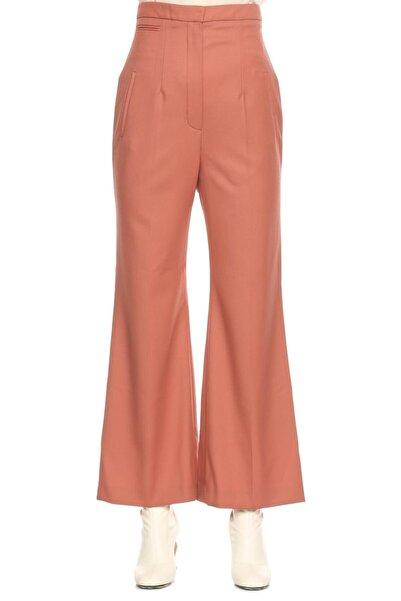 Lanvin Kadın Pembe Yüksek Bel Pantolon