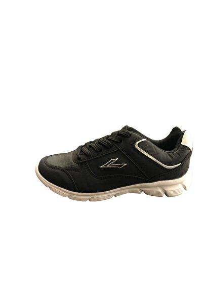 LIG Unisex Siyah Düz Ayakkabı