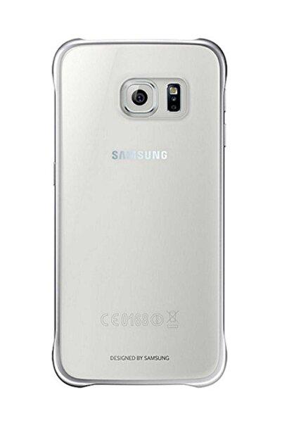CaseLogic Samsung Galaxy S6 Clear Cover Orjinal - Gümüş Ef-qg920bsegww