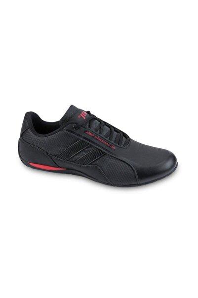 Jump 24860 Günlük Erkek Spor Ayakkabı - Siyah - Kırmızı - 45