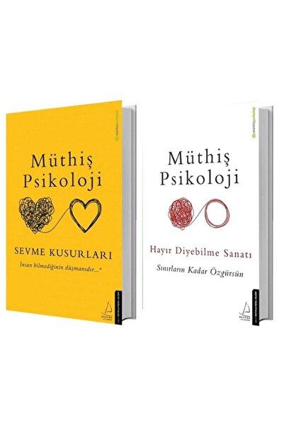 Destek Yayınları Sevme Kusurları + Hayır Diyebilme Sanatı - Müthiş Psikoloji 2 Kitap Set