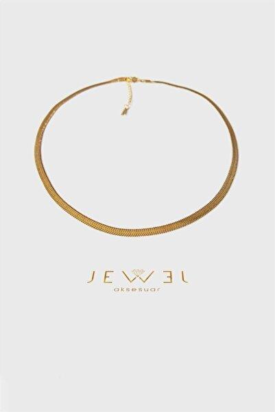 Jewel Italyan Zincir Gold Altın Kaplama Kolye