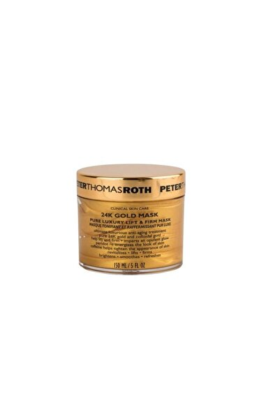 PETER THOMAS ROTH Saf 24 Karat Altın İçeren Sıkılaştırıcı ve Lifting Maske - 24 K Gold Mask 150 ml