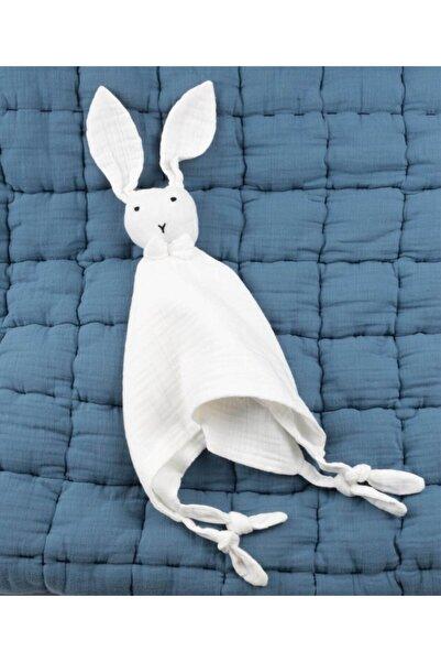 Cigit Ekru Tavşan Müslin Uyku Arkadaşı (Yıkanmıştır) 40x40 cm