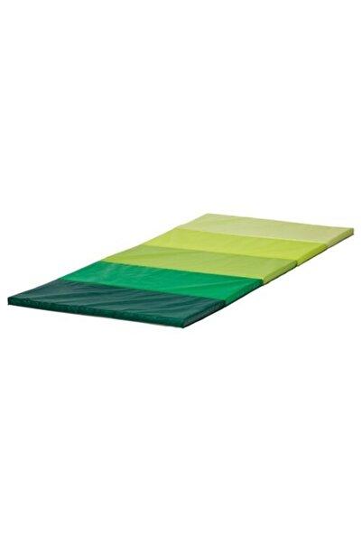 IKEA Plufsig Minder Yeşil, 185x78x3.2 Cm