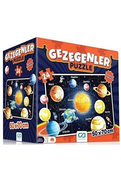 CA Games Gezegenler Eğitici Puzzle
