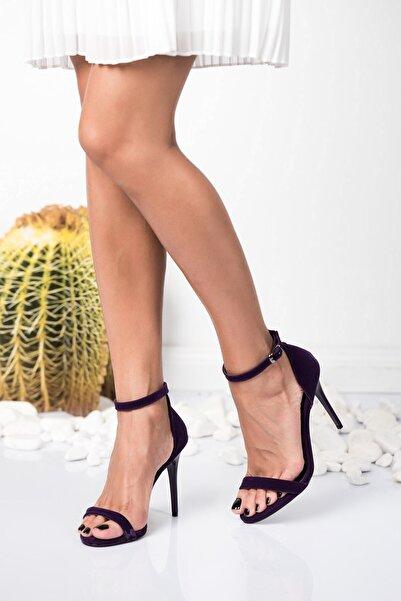 Fox Shoes Mor Kadın Topuklu Ayakkabı 9922112602