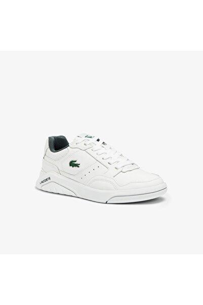 Lacoste Game Advance Luxe07213Sfa Kadın Beyaz - Koyu Yeşil Sneaker 741SFA0080