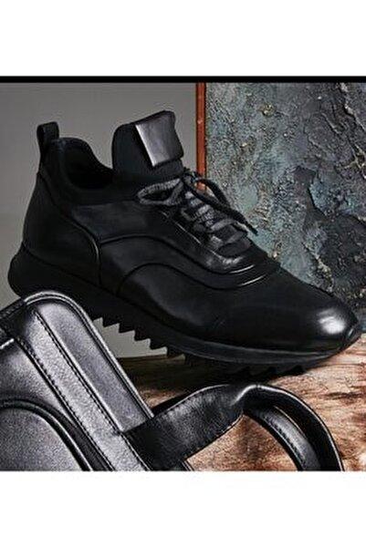Deri Bagcikli Erkek Spor Sneaker 502x