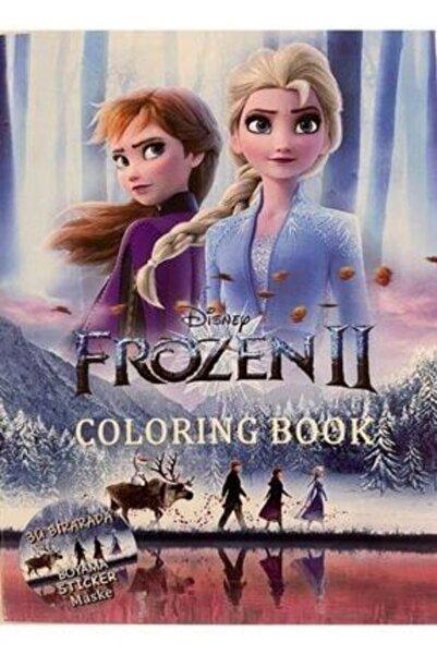 DISNEY Frozen Boyama Kitabı + Sticker ve Maske