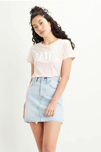 Levi's The Perfect Tee Kadın Pembe Tişört